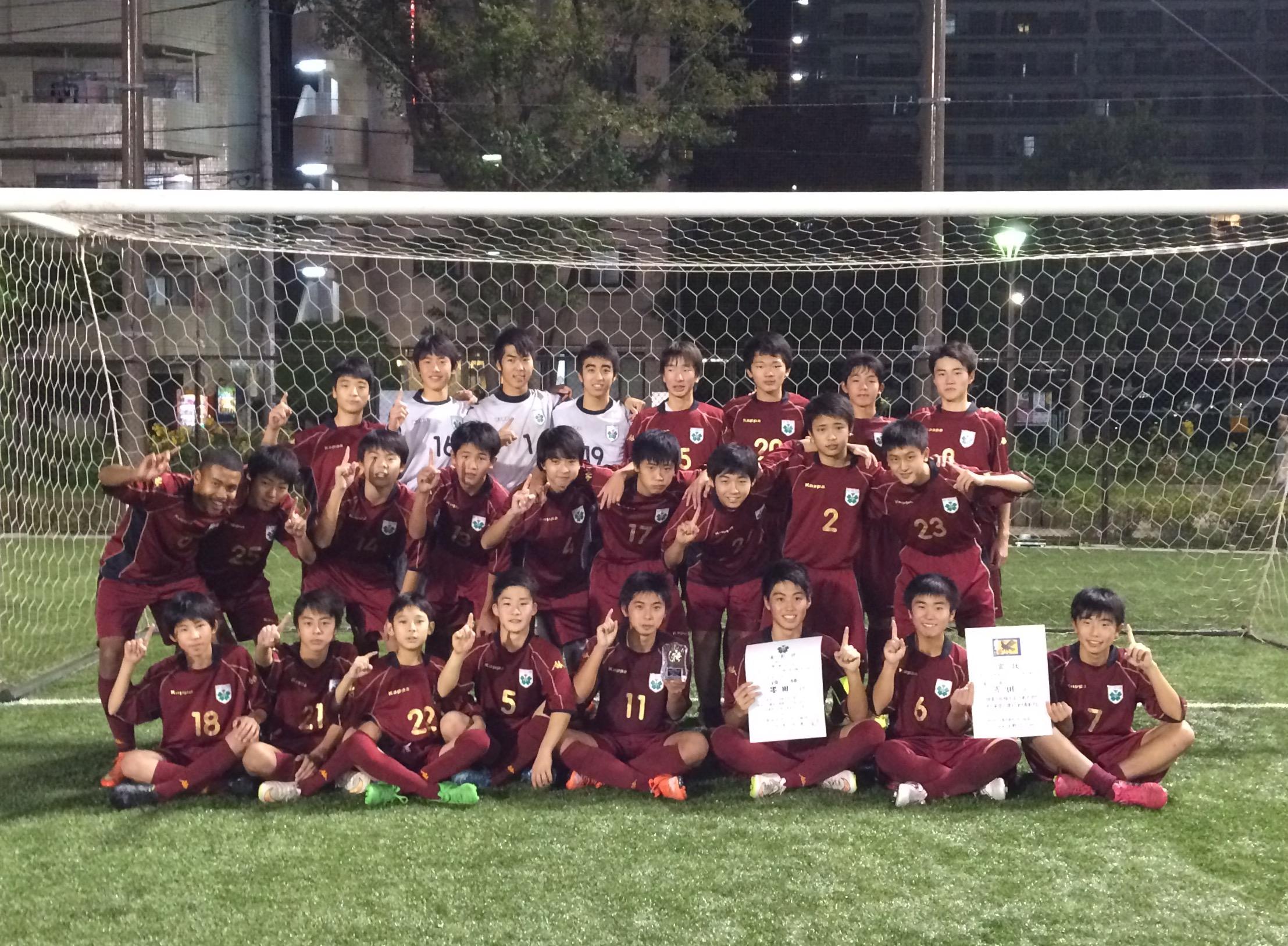 第55回墨東五区中学の部墨田区選抜チーム